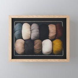 Warm Fuzzy Knits Framed Mini Art Print