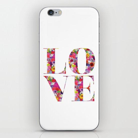L O V E iPhone & iPod Skin