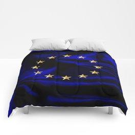 EU Silk Flag Comforters