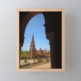 Seville Spain by Reay of Light Framed Mini Art Print
