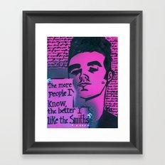 The Smiths is Dead Framed Art Print