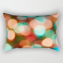 Abstract holiday background Rectangular Pillow