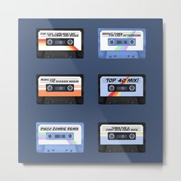 Groovy Tunes For Lazy Afternoons Metal Print