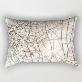 Raku crackles Rectangular Pillow