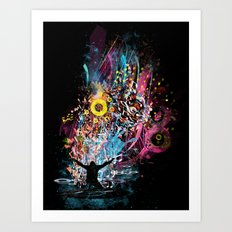 soul dj Art Print