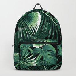 Tropical Jungle Leaves Dream #6 #tropical #decor #art #society6 Backpack