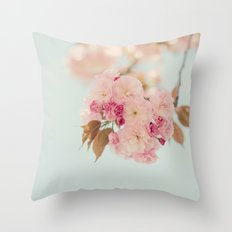 Sweet Like Spring Throw Pillow