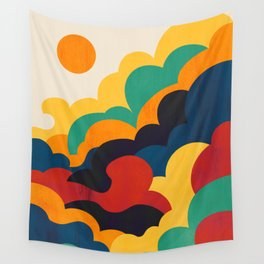 Cloud nine Wall Tapestry