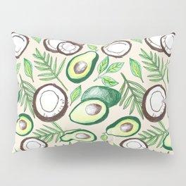 Coconuts & Avocados Pillow Sham