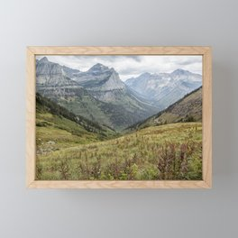 Splendor from Highline Trail - Glacier Framed Mini Art Print