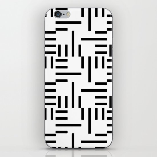Kemper Black & White iPhone & iPod Skin