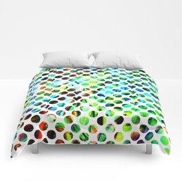 Fluid Dot Comforters
