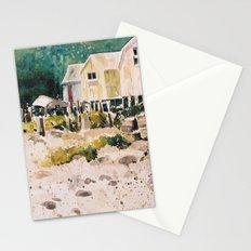 fish shacks Stationery Cards