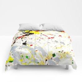 Paint Splatter Comforters
