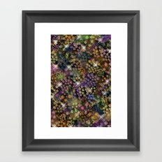 Stained Glass look Series 1 Framed Art Print