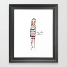 Limited Edition - Long Johns Framed Art Print