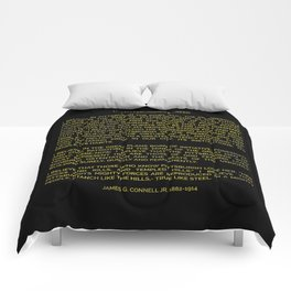 The Pittsburgher's Creed Comforters