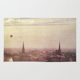 Hamburg sunrise Rug