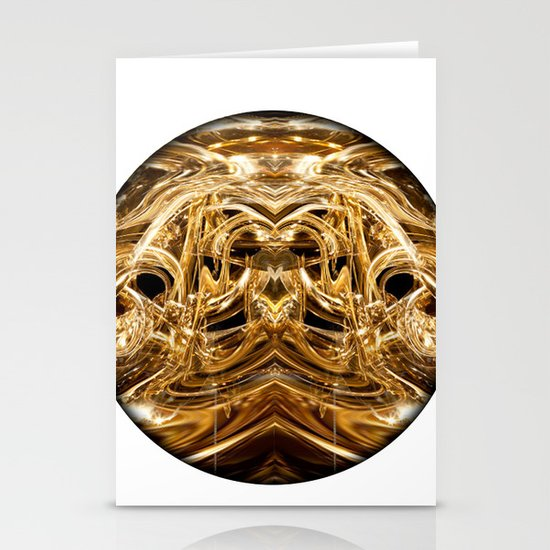 oro tre Stationery Cards