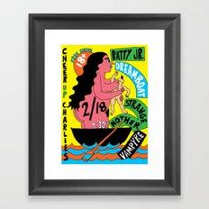Dreamboats Framed Art Print