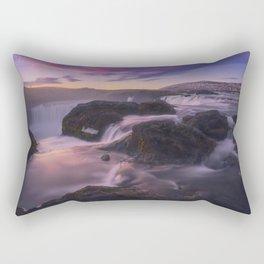 Low-key Point Of View Rectangular Pillow