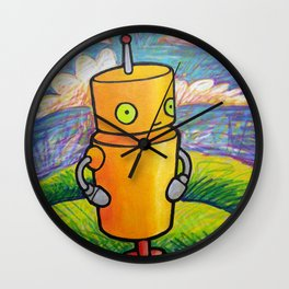 Robot - Drawbot Wall Clock