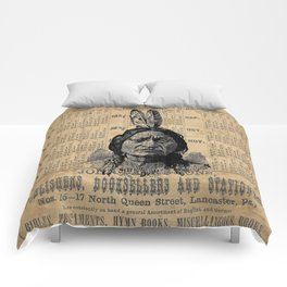 Sitting Bull Native American Chief  Comforters