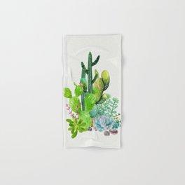 Cactus Garden II Hand & Bath Towel