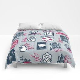 Italy in 20 regions Comforters