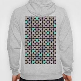 Abstract pattern . To embroider a cross . Hoody