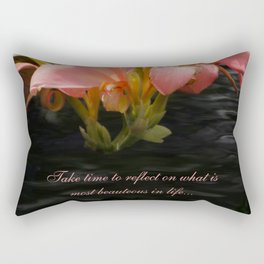 Life Reflections by Teresa Thompson Rectangular Pillow