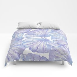 Shell Ya Later - Purple Seashell Pattern Comforters