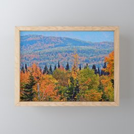 Autumn with Nature Framed Mini Art Print