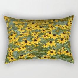 Field of Brown Eyed Susans Rectangular Pillow