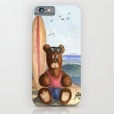 Surfer Bear Slim Case iPhone 6s