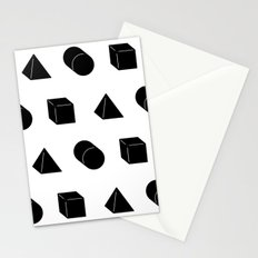 Shapes Pattern Stationery Cards