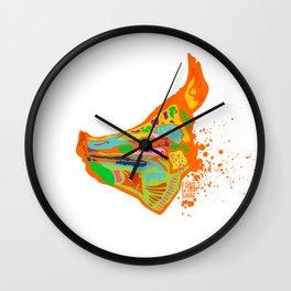 pig head Wall Clock