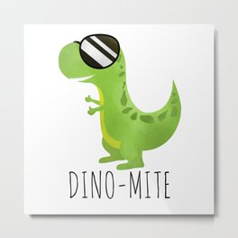 Dino-Mite Metal Print