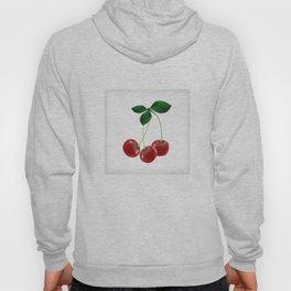 Cherries with leaves Hoody