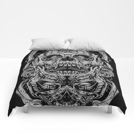 2 FACES SKULL Comforters
