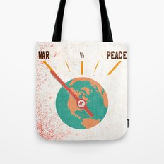 Low On Peace Tote Bag