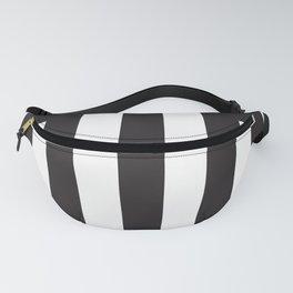 Black Stripes Fanny Pack