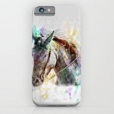 Watercolor Horse Portrait iPhone 6s Slim Case