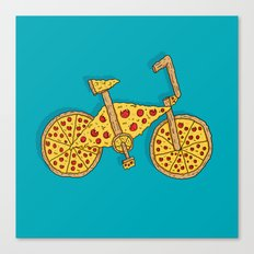 Pizzacycle Canvas Print