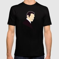 Rhett Butler Mens Fitted Tee MEDIUM Black