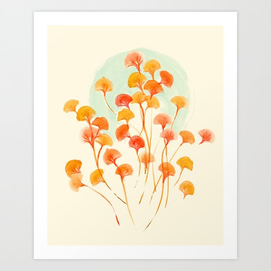 The bloom lasts forever Art Print