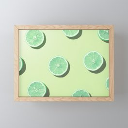 #2_Acid lemons Framed Mini Art Print