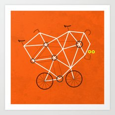 Lovecycle Art Print