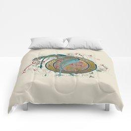 Celtic Initial D Comforters