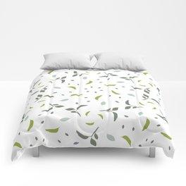 Coastal leaves Comforters